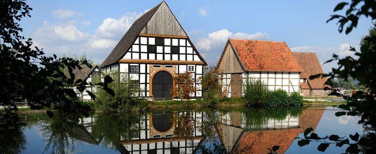 Das Paderborner Dorf im LWL-Freilichtmuseum Detmold, dem größten Deutschlands.