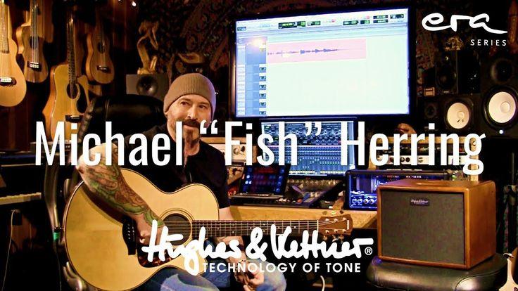 "International guitar ace Michael ""Fish"" Herring tests the Hughes & Kettner era 1 premium acoustic instrument amplifier at his Los Angeles studio!"
