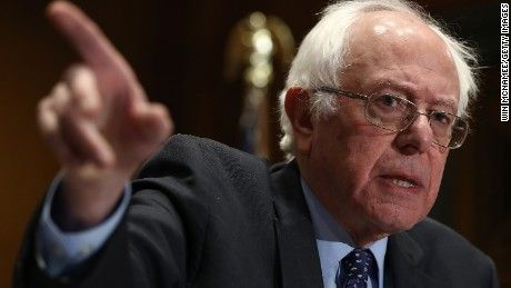 Sanders not giving his email list to DNC State of the Union  Bernie Sanders tells Jake Tapper that he won't share his email list with the full DNC, but rather use it to help candidates he chooses. Source: CNN