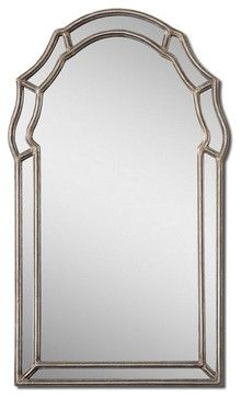 Uttermost Petrizzi Decorative Arched Mirror - 12837 - transitional - accessories and decor - Chachkies
