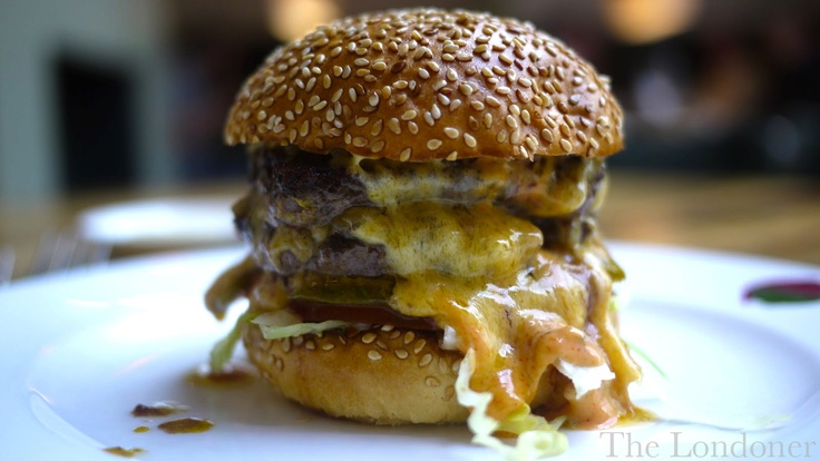 The Londoner: The Double Stack Burger