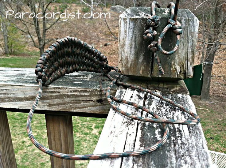13 best images about paracord uses on pinterest dog for Paracord rock sling