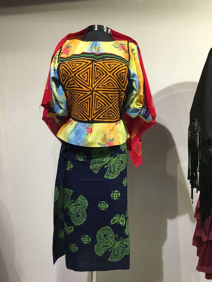 traje tradicional cuna #priscilalabco #expoartesanias