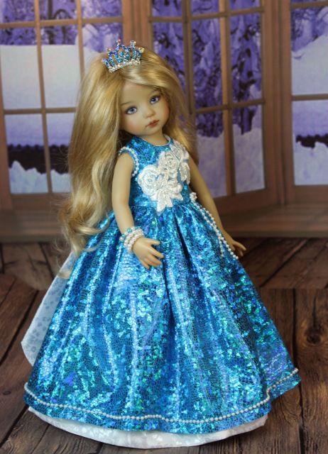 Бальное платье. Куклы Дианы Эффнер. / Одежда для кукол / Шопик. Продать купить куклу / Бэйбики. Куклы фото. Одежда для кукол