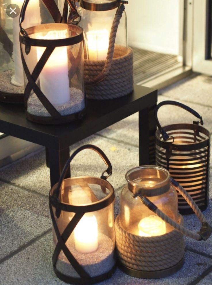 Shine bright even when it's dark outside.  Balmuir Lanterns brings light and joy.