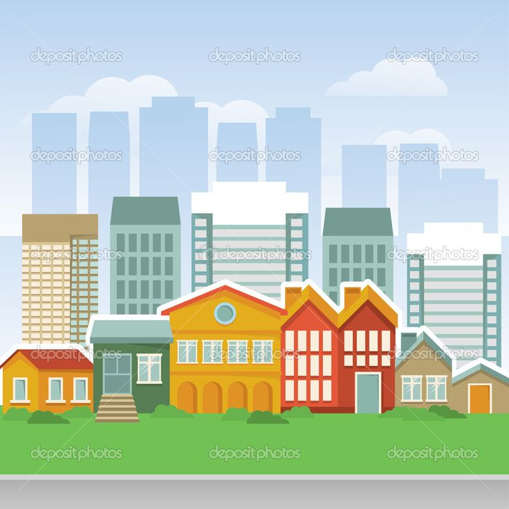 Animated Green Buildings : Best images about city cartoon on pinterest vector