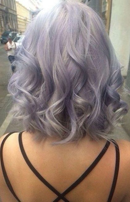 Best 25 Silver Purple Hair Ideas On Pinterest Silver