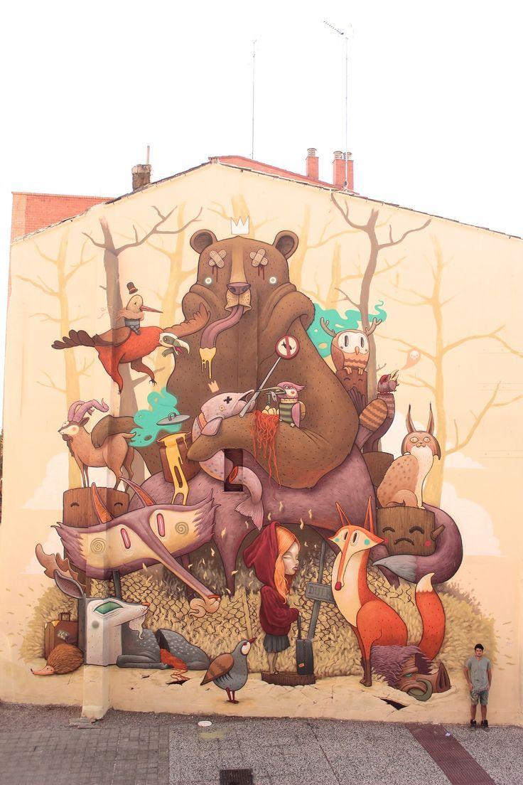 """Tribute to the iberian wildlife"" by Antonio Segura Donat"