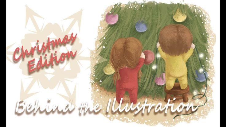 🎄Behind the Illustration 🎨| Christmas Edition | FairyWorld84 🎄