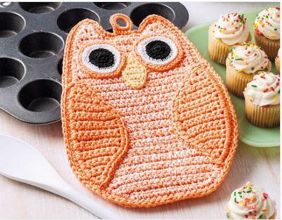 Stitch 'N Stuff Hooks and Needles: Too cute crochet dishcloths...