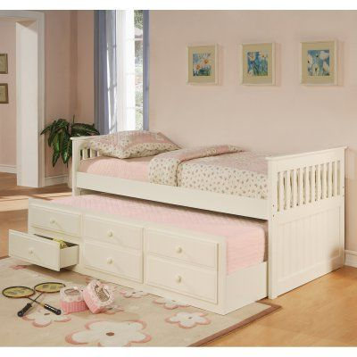 Coaster Furniture La Salle Twin Captains Bed with Trundle and Storage Drawers - 300107