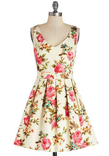 Bookmaking Brunch Dress, #ModCloth