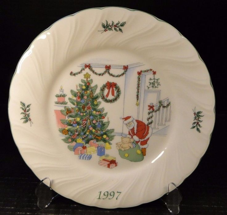 Nikko Happy Holidays 1997 Collectoru0027s Dinner Plate 10 3/4  EXCELLENT & 17 best Nikko Holiday Dinnerware! images on Pinterest | Nikko ...