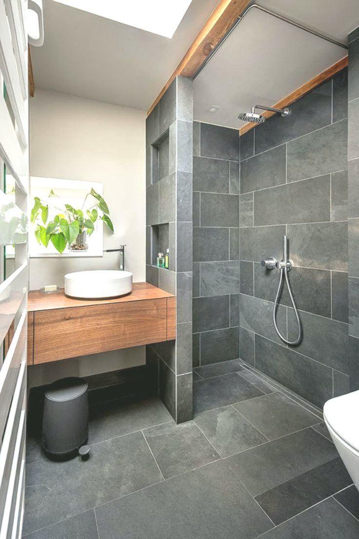 Badezimmer Schwarz Grau Schiefer Holz Minimalistische Badezimmer Von Conscious Ausliefern Sie Zig In 2020 Badezimmer Schwarz Badezimmer Minimalistische Bader