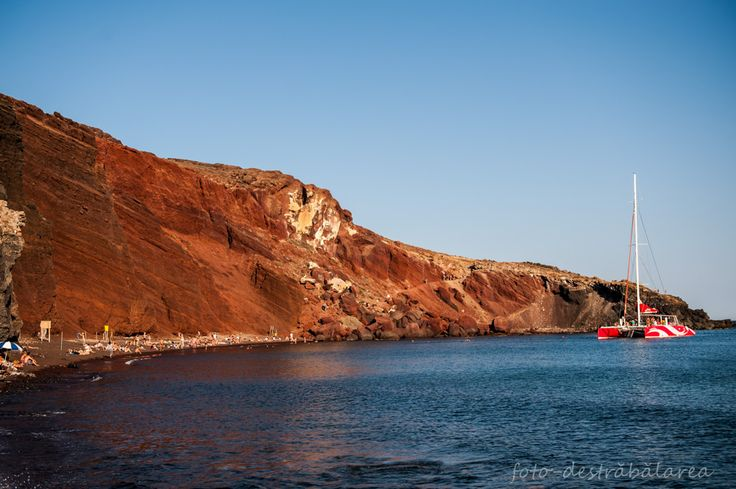 red beach-Santorini