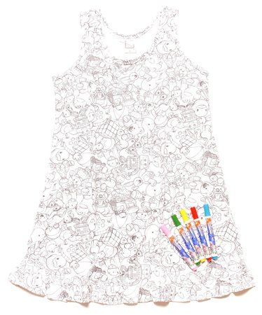 Camisola de colorir