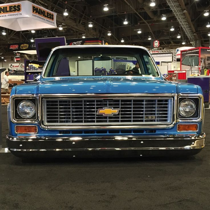 1973 Chevy truck - SQUAREBODY SYNDICATE