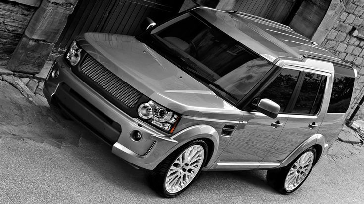 The RS (Discovery) for Land Rover Discovery 2009 - 2013 by Project Kahn, including Pair of Vented Front Air Dams and Pair of Vented Rear Air Dams   Aerodynamic Styling