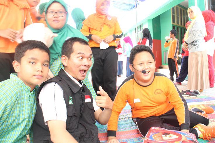 Sekolah Dasar Muhammadiyah Plus Batam dg juara story telling