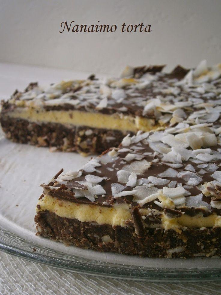 Hankka: Nanaimo torta