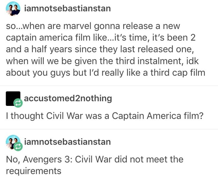Captain America: Civil War, cacw LOL, this is all true, yet I decline and refuse to accepts it's facts.