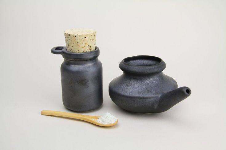 Baraka Neti Pot & Salt Jar