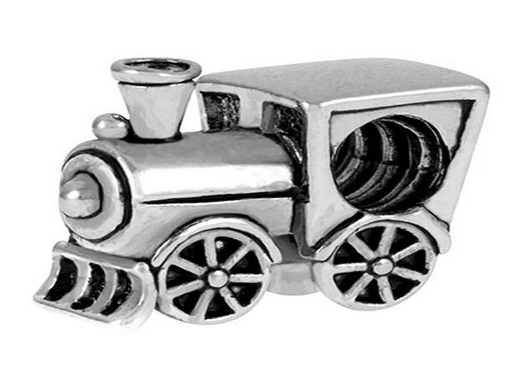 Train - Pandora Style Beads, Pandora Style Charms, Pandora Style Bracelets. Over 1700 Unique Charms and Beads. Free Gift Wrapping On Every Order. 100% Satisfaction Money Back Guarantee. FREE SHIPPING on orders over $50.