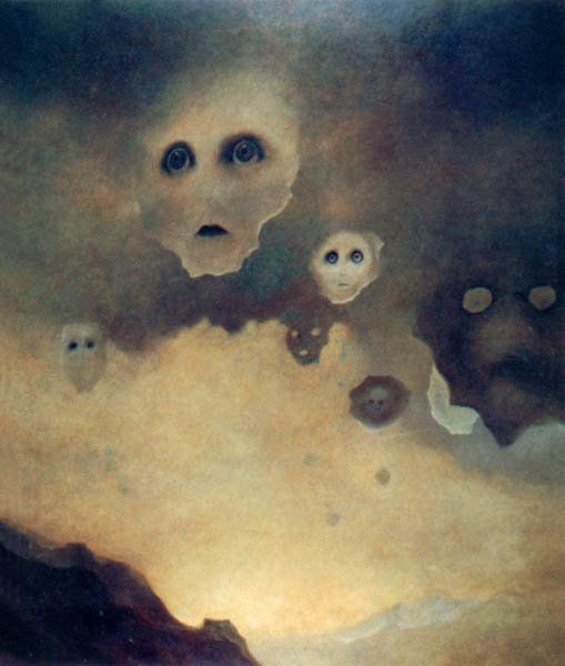 Creepy Zdzisław Beksiński Paintings