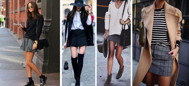 A continuación te presentamos 10 formas de usar tu falda en invierno y olvidarte de los jeans. Desde faldas largas hasta cortas, encuentra los mejores tips.