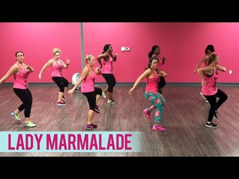 (3) Christina Aguilera, Lil' Kim, Mya, Pink - Lady Marmalade (Dance Fitness with Jessica) - YouTube