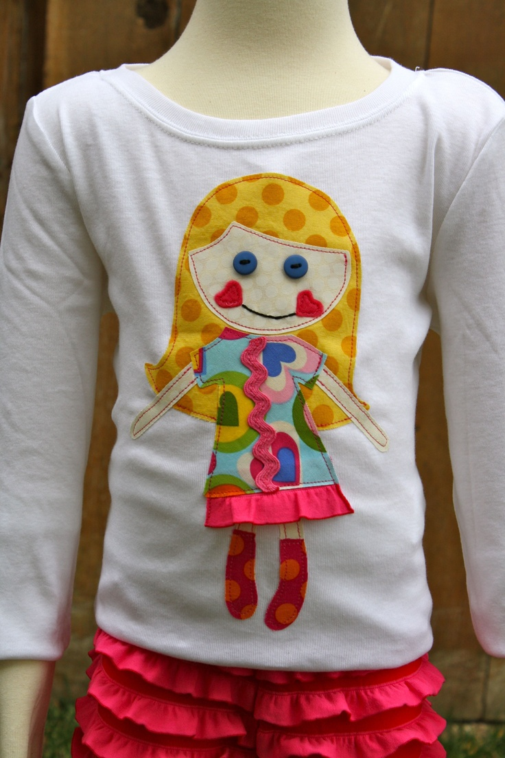 Best friend's shirt- customize shirt to look like your little girl....adorable!