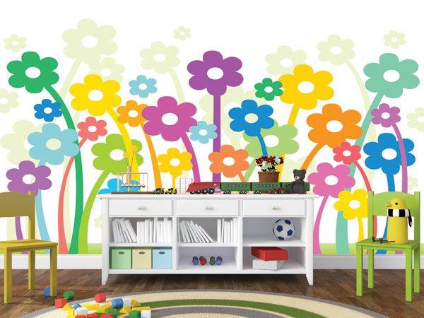 #Iδέες για παιδικές #ταπετσαρίες τοίχου για να γιορτάσετε την άφιξη του μικρού σας πρίγκιπα ή της μικρής πριγκηπέσας