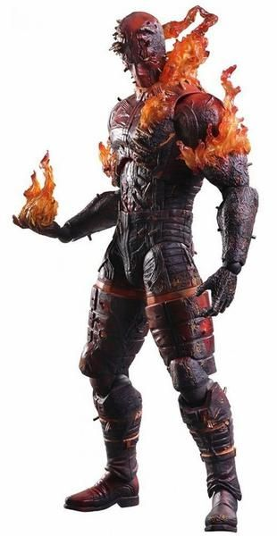 From the Metal Gear Solid V: The Phantom Pain, video game comes The Man on Fire Play Arts Kai action figure line! Beginning with this product line,