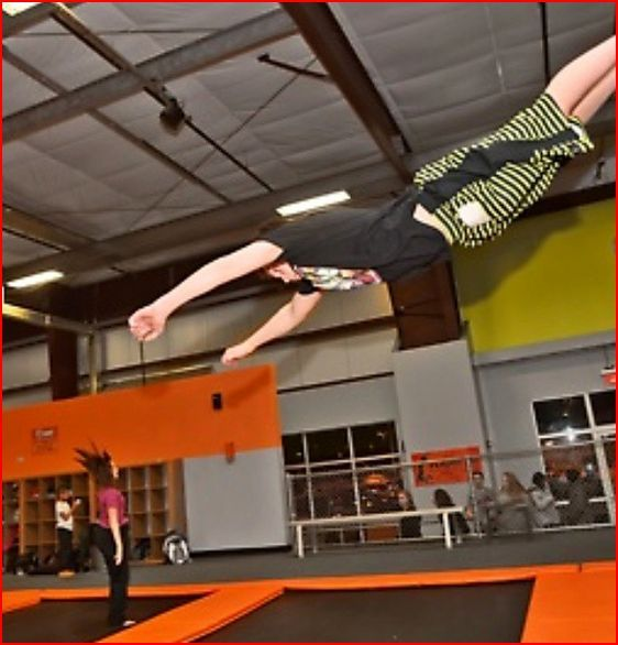 Getting Trampoline Springs Off: 36% Off Deal At Flight Trampoline Park In Pittsburgh. Get