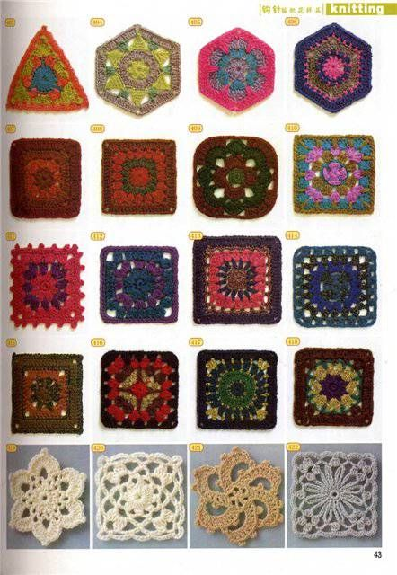 Love these! Framed granny squares, etc. would make beautiful gifts.