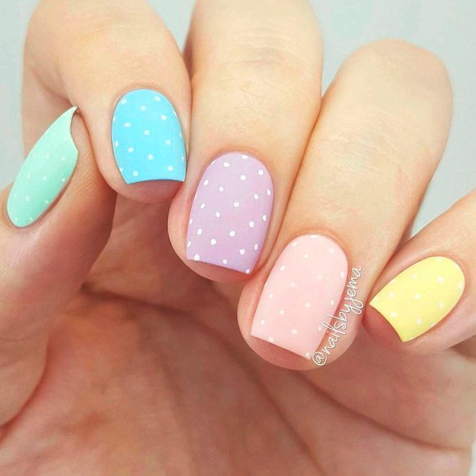 60 Inspiring Easter Nails Designs 2020 Manicura De Uñas