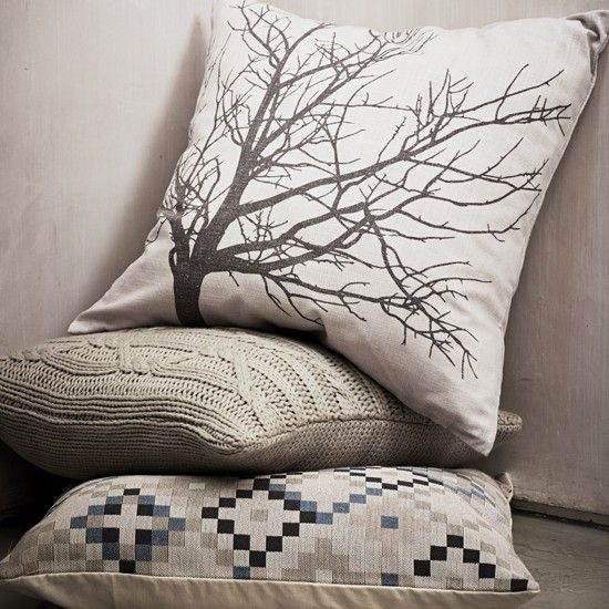 Plump it up with this Harmony tree cushion, perfect for autumn!