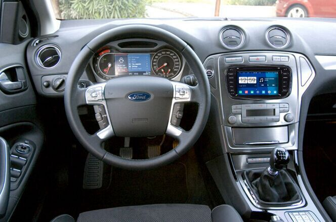 14 steps to install 2009 2010 Ford mondeo Radio with DVD player WiFi OBD2.