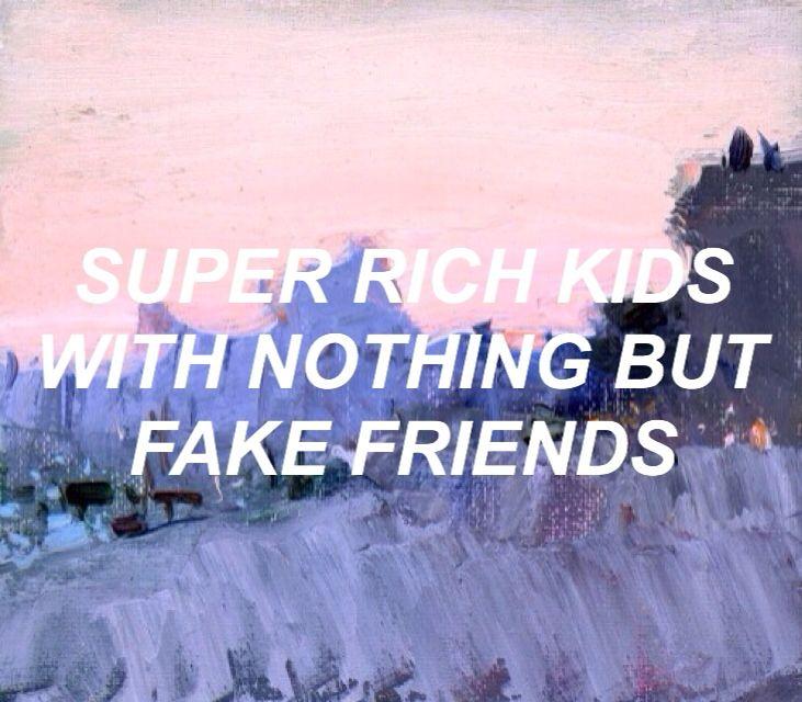 Super Rich Kids // Frank Ocean
