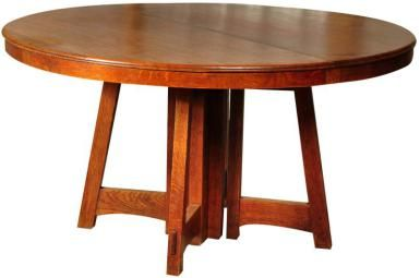 Can You Identify Mission Style Furniture?: Mission Style Dining Table by Charles Limbert