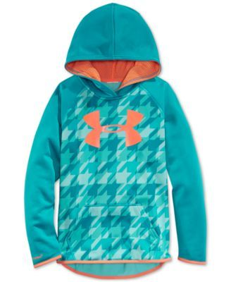 Under Armour Girls' Logo Hoodie -Size Kids Large
