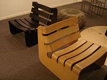 Ricardo Blanco (arquitecto) - construida en madera curvada