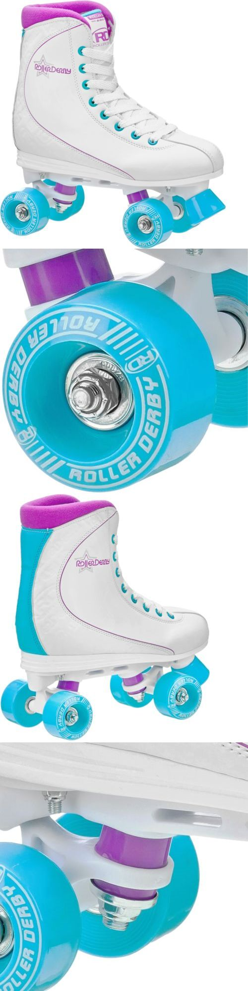 Dukes roller shoes - Women 16261 Quad Roller Skates Women White Traditional High Top Recreational Fun Size 8 New