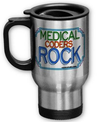 Medical Coders Rock!  I want one for Christmas!