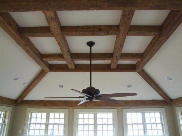 Pictures of Hollow Rustic Timber Wood Decorative & Structural Ceiling Beams
