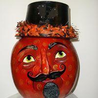 Ring MAster Halloween Gourds by Carolyn Reif-Lockwood