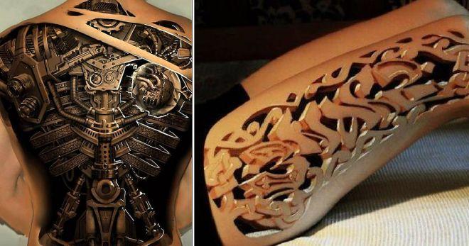 TOP 3D tetování, u kterého neuvěříte, že to není skutečné! - Evropa 2