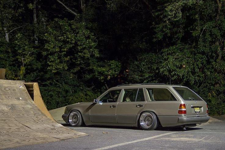 Old school Mercedez Wagon making a comeback