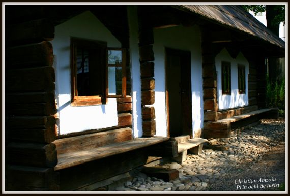"A special village museum in the city of Suceava, representing houses from villages around the ""Bucovina"" area..."