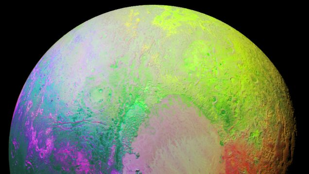 New research presented today at the 2016 Lunar and Planetary Sciences Conference reveals tropic and arctic regions on Pluto, and a dynamic climate cycle that's causing its atmosphere to fluctuate in size over time—possibly allowing for lakes and rivers of liquid nitrogen to form at the surface.